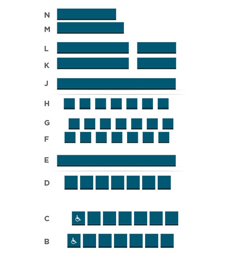 Garner Galleria Theatre Seating Chart