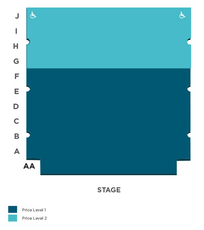 Ricketson Theatre Seating Chart