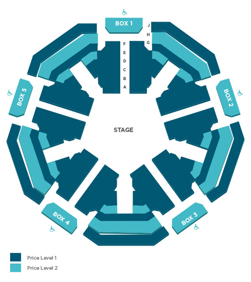 Space Theatre Seating Chart